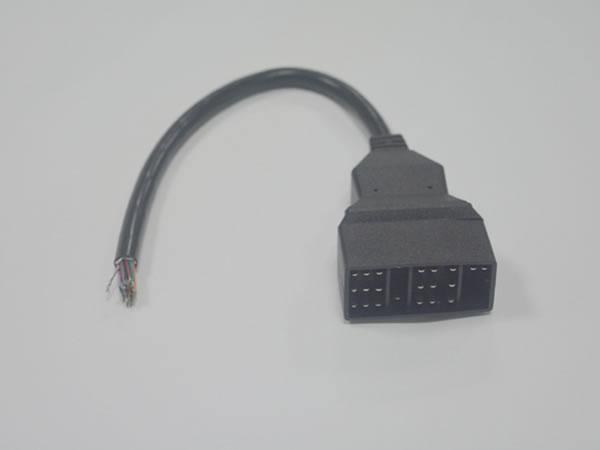 toyota 22 pin kabel diagnosestecker bennzs. Black Bedroom Furniture Sets. Home Design Ideas